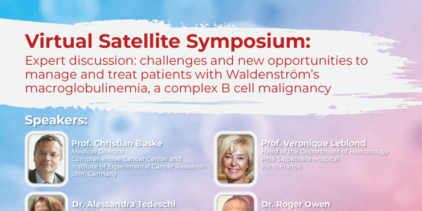 EHA25 - Virtual Satellite Symposium - Flyer