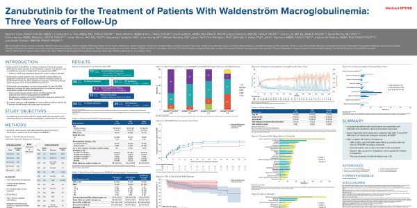 Zanubrutinib for the Treatment of Patients With Waldenström Macroglobulinemia: Three Years of Follow‑Up