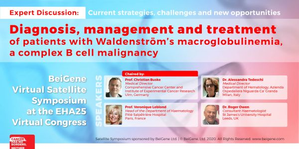 EHA25 - Virtual Satellite Symposium Webcasts