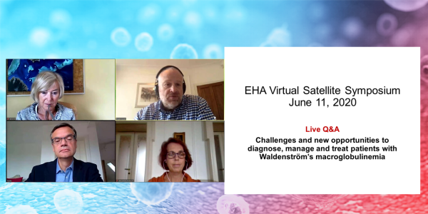 EHA Virtual Satellite Symposium 2020 - Q&A